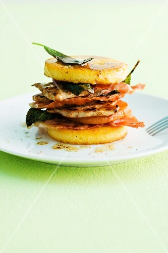 A saltimbocca tower