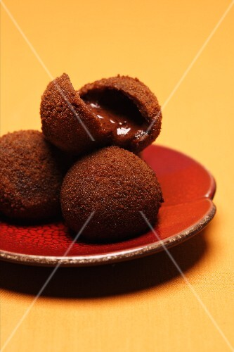 Chocolate and cinnamon croquettes