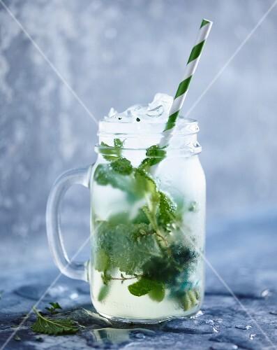 Herb lemonade