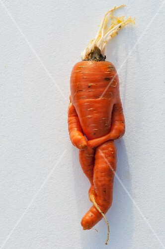 A knobbly carrot