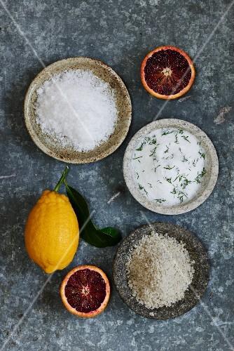 Salt baking ingredients