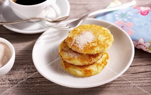 Mini rice pancakes