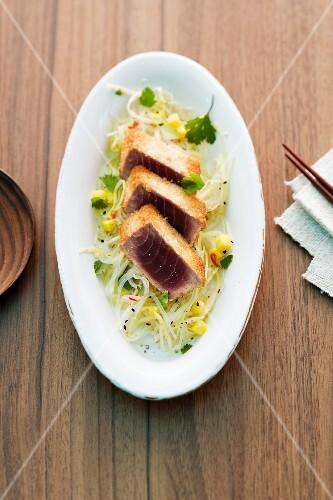 Baked tuna fish