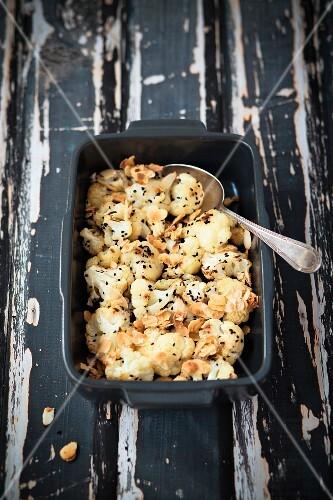 Roasted cauliflower with cumin