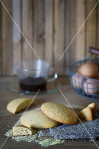 Biscotti al miglio (Italian millet biscuits)