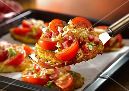 Pizza fritters
