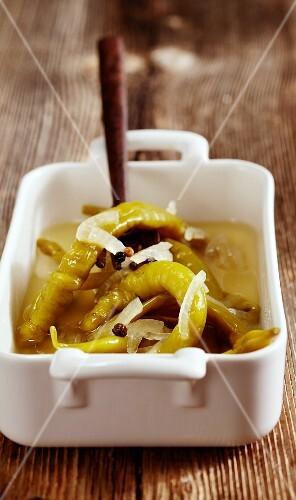 Pickled peperoni