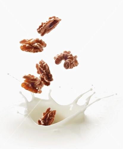 A splash of walnut milk