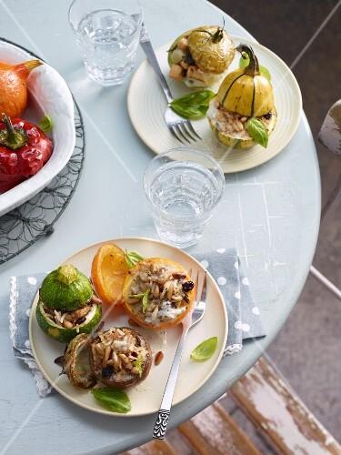 Petit farcis (stuffed vegetables, France)