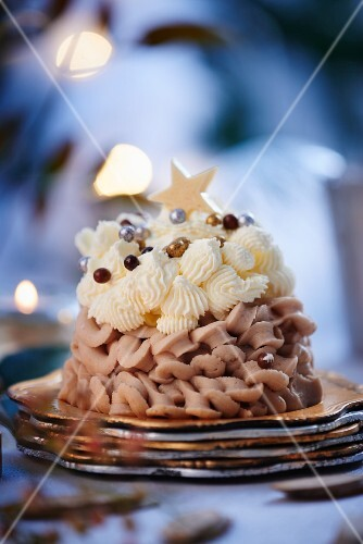Mont Blanc (Chestnut dessert, France)