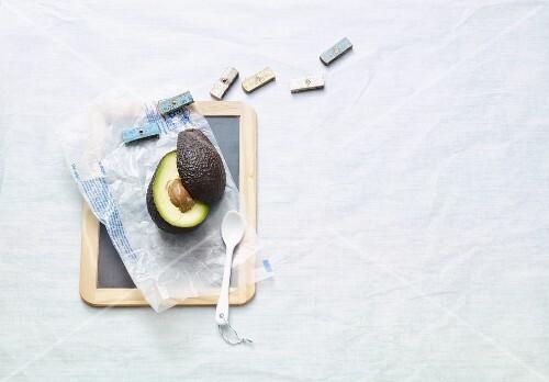 An avocado – lazy low carb