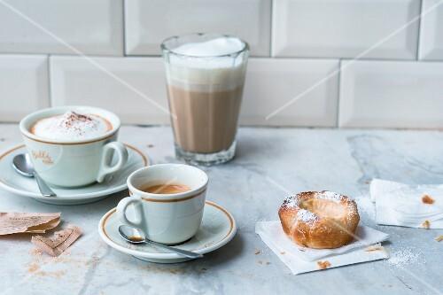 European coffee specialities