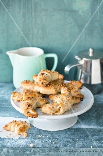 Jewish Rugelach with two different fillings