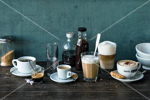 International coffee specialities