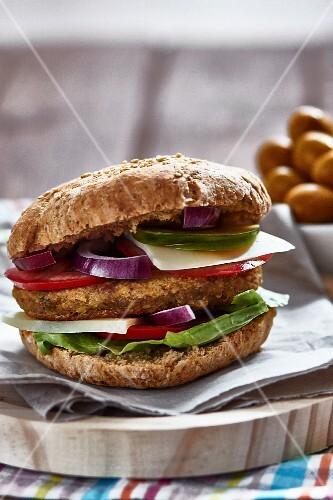 Vegan vegetables burgers