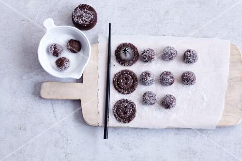 Gluten-free button biscuits