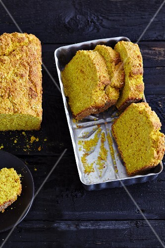 Gluten-free millet and amaranth bread with madras curry
