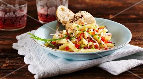 Mountain cheese salad