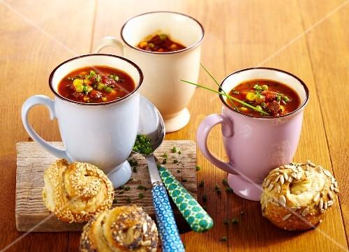 Fiery soup for carnival