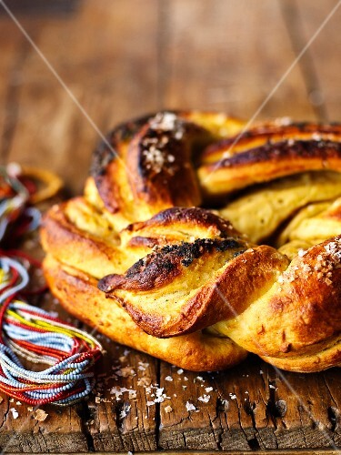 Sweet potato bread with aloe syrup (Africa)