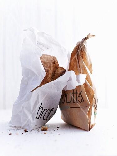 Bread in bags