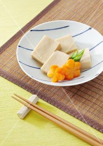 Koya dofu, (freeze dried tofu, Japan)
