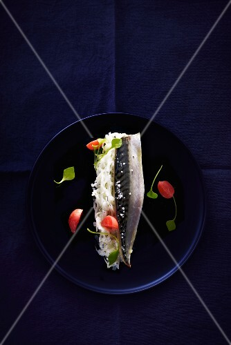 Stuffed mackerel