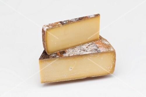 Gruyere (hard cheese from Switzerland)