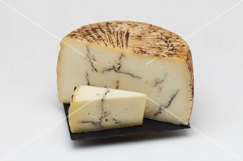 Pecorino with truffles (Italy)
