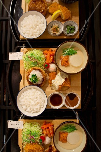 Artificial Japanese food