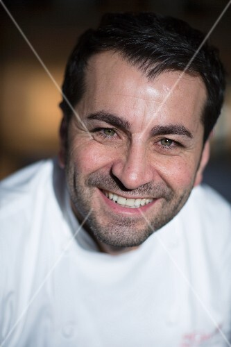 A portrait of the chef Ali Güngörmüs
