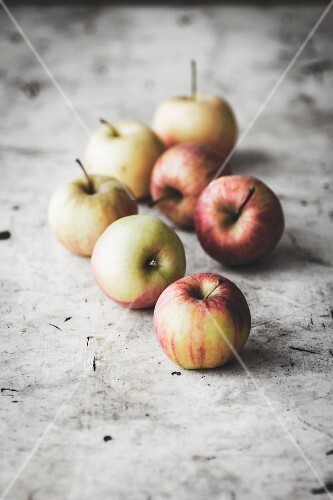 Several apples