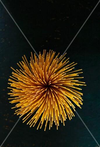 A Bunch of Organic Spaghetti