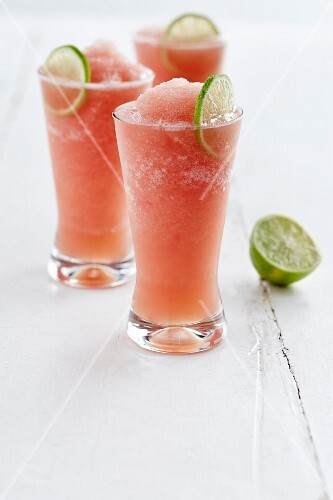 Frozen Palomas (cocktails made with grapefruit and tequila)
