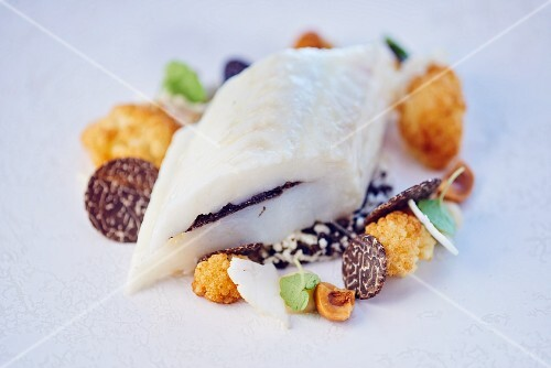 Sole with truffles