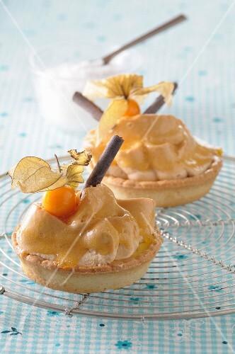 Tartlets with chestnut cream
