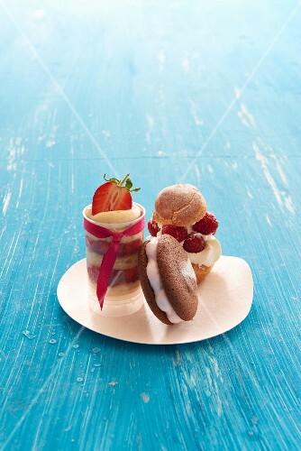 Cream-filled desserts