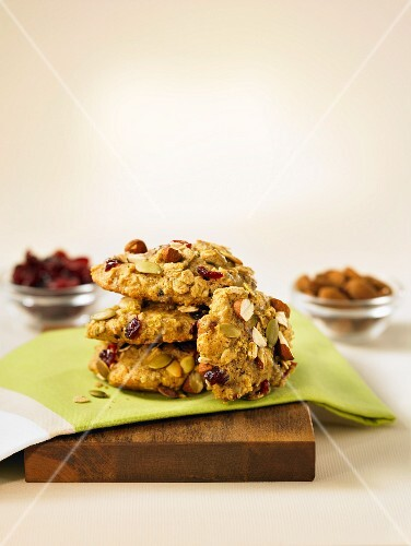 Quinoa and oat cookies