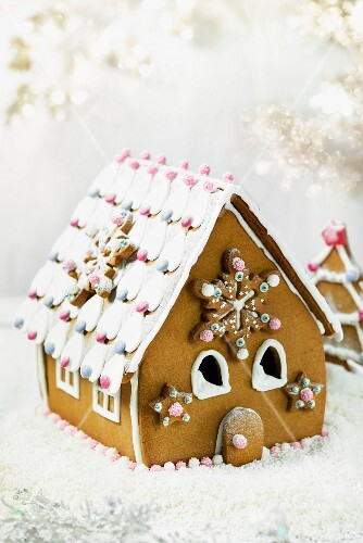 A gingerbread house for Christmas