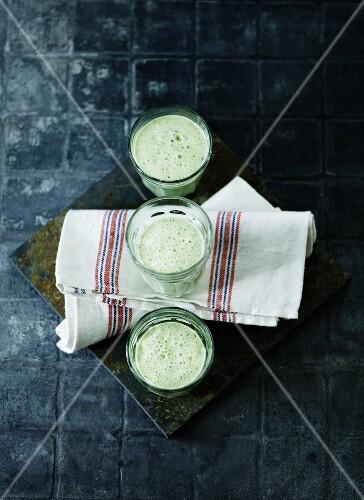 Protein-rich herb drinks