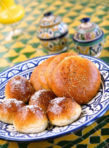 Sweet Moroccan rolls