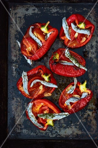 Piedmont-style stuffed peppers