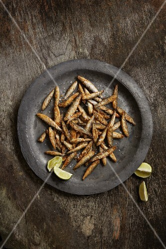 Indian-style whitebait