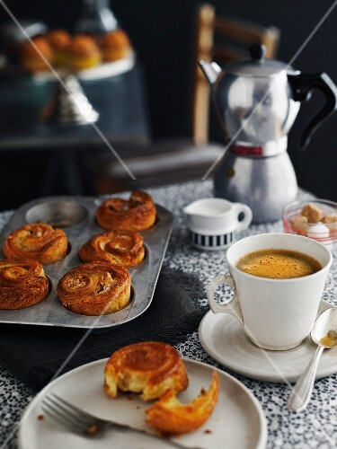 Kouign Amman (yeast dough pastries from Brittany, France)