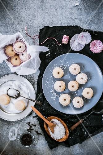 Beijinhos (sweets from Brazil)