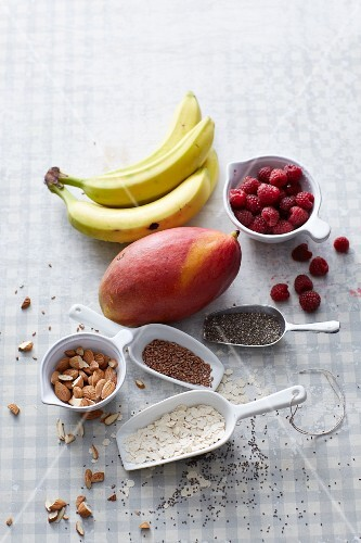 Creative ingredients for smoothies