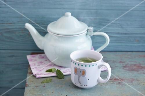 Herb tea for children