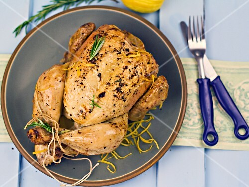 Lemon and rosemary chicken