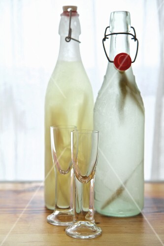 Homemade infused vodka from Russia