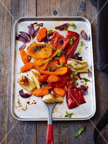 Italian vegetable medley with fresh herbs